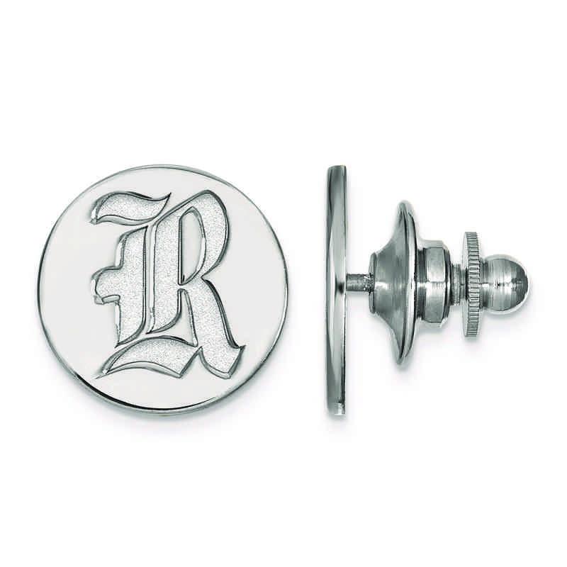 SS011WMR: SS LogoArt Rice University Lapel Pin