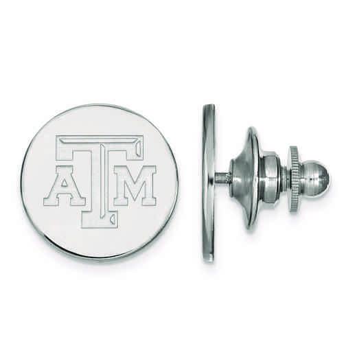 SS071TAM: SS LogoArt Texas A&M University Lapel Pin
