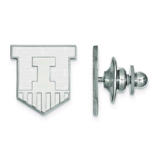 SS051UIL: SS LogoArt University of Illinois Lapel Pin