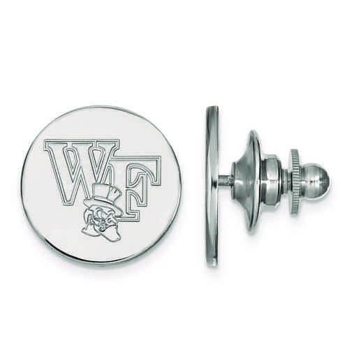 SS075WFU: SS LogoArt Wake Forest University Lapel Pin
