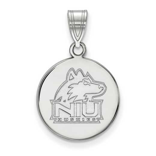 SS034NIU: SS LogoArt Northern Illinois Univ Medium Disc Pendant