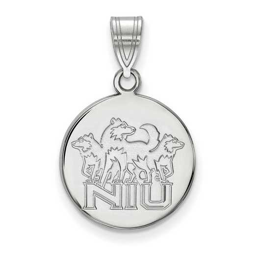 SS036NIU: SS LogoArt Northern Illinois Univ Medium Disc Pendant