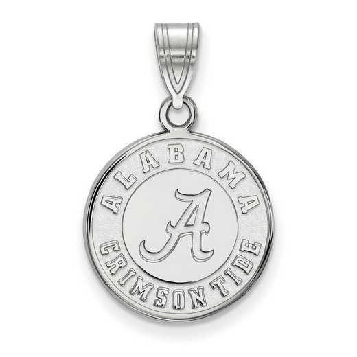 SS086UAL: SS LogoArt Univ of Alabama Medium Disc Pendant