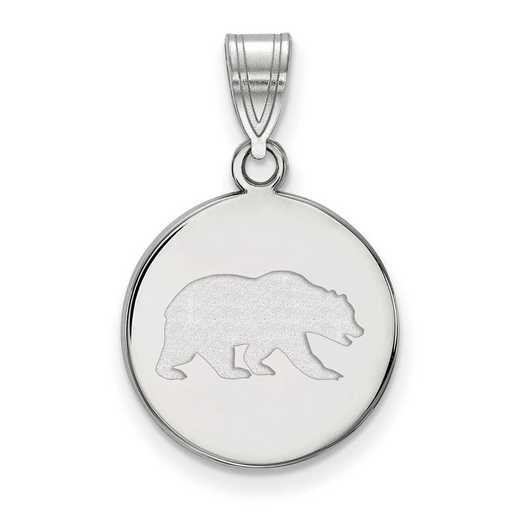 SS043UCB: SS LogoArt U of California Berkeley Medium Disc Pendant