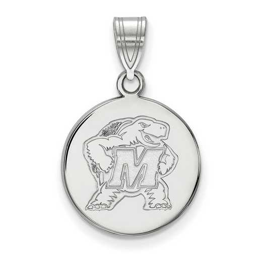 SS032UMD: SS LogoArt Maryland Medium Disc Pendant