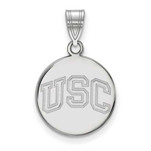 SS048USC: SS Univ of Southern California Medium Disc Pendant