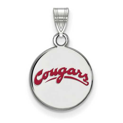 SS042WAS: SS LogoArt Washington St Small Enamel Disc Pendant