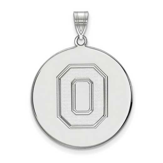 SS091OSU: SS LogoArt Ohio St Univ XL Disc Pendant