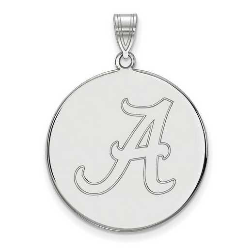 SS085UAL: SS LogoArt Univ of Alabama XL Disc Pendant