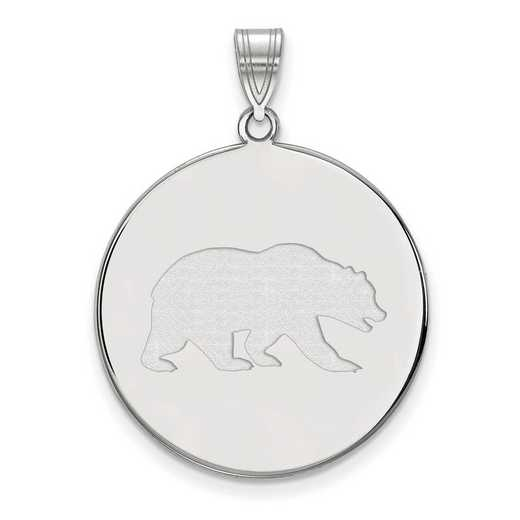 SS044UCB: SS LogoArt Univ of California Berkeley XL Disc Pendant