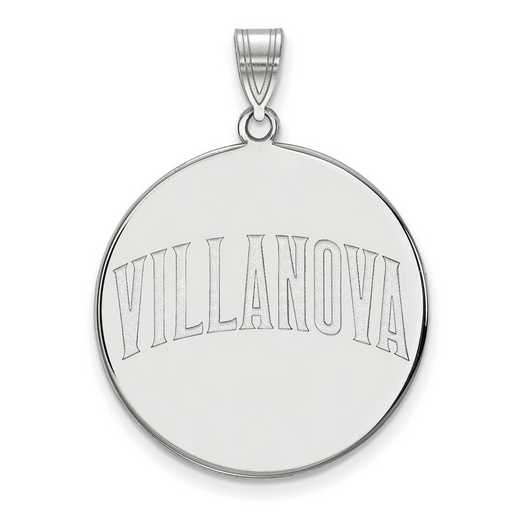 SS046VIL: SS LogoArt Villanova Univ XL Disc Pendant