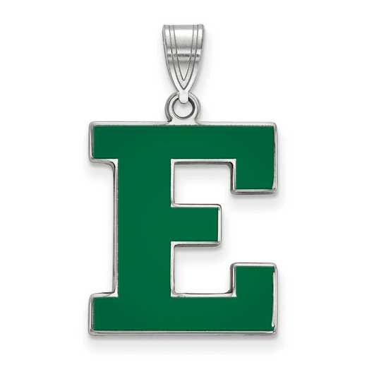SS025EMU: SS LogoArt Eastern Michigan Univ Enamel LG Pendant