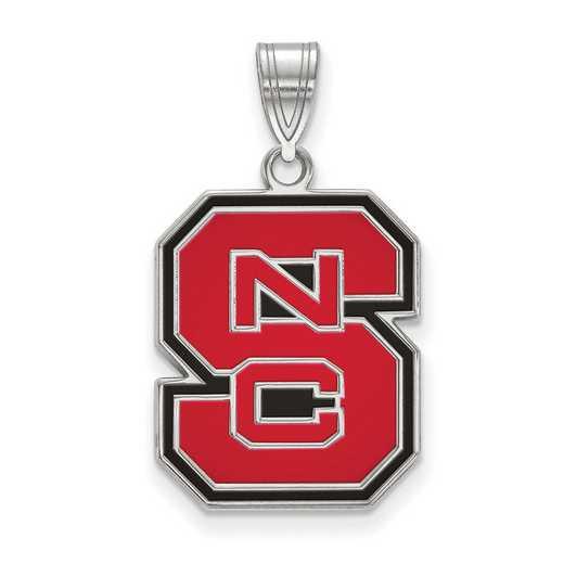 SS032NCS: SS LogoArt North Carolina St Univ LG Enamel Pendan