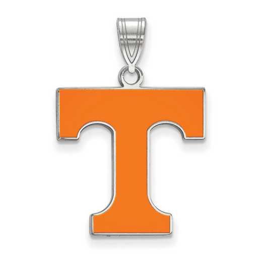 SS032UTN: SS LogoArt Univ of Tennessee LG Enamel Pendant