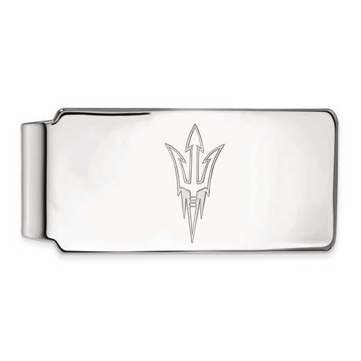 SS017AZS: SS LogoArt Arizona State Univ Money Clip