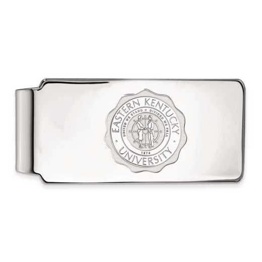 SS019EKU: SS LogoArt Eastern Kentucky Univ Money Clip Crest