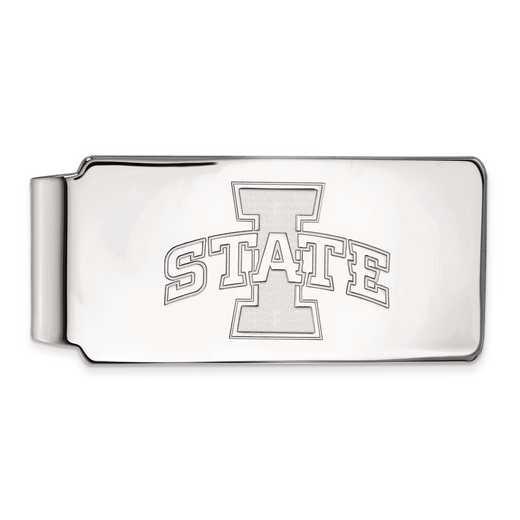 SS010IAS: SS LogoArt Iowa State Univ Money Clip
