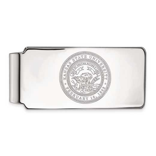 SS064KSU: SS LogoArt Kansas State Univ Money Clip Crest