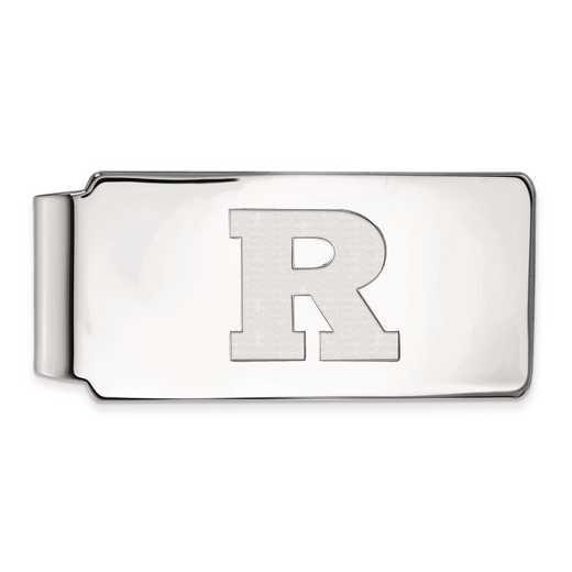 SS014RUT: SS LogoArt Rutgers Money Clip