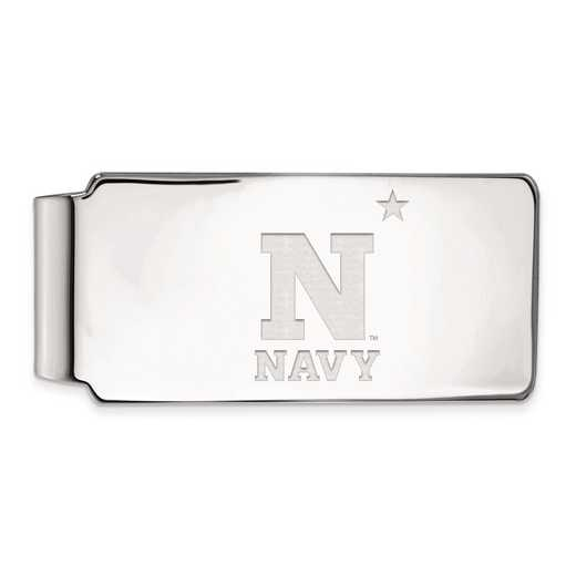 SS005USN: SS LogoArt Navy Money Clip