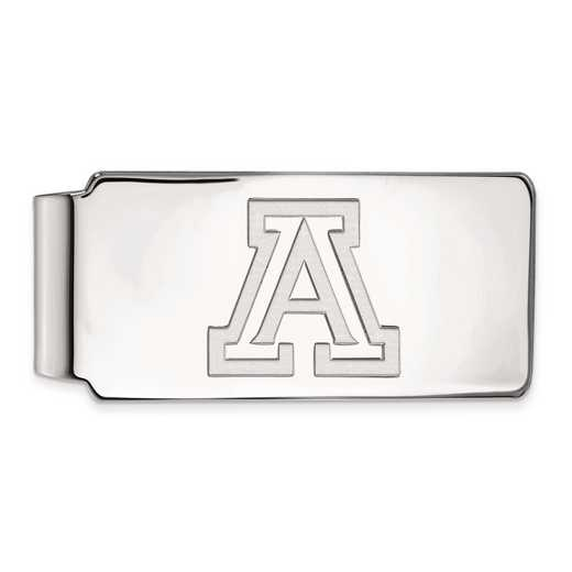 SS017UAZ: SS LogoArt Univ of Arizona Money Clip