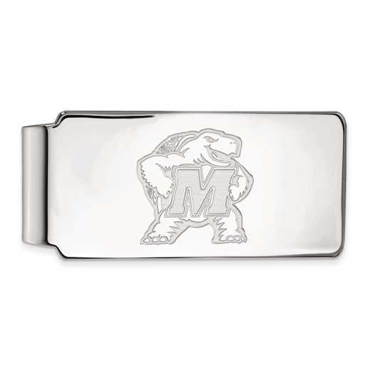 SS020UMD: SS LogoArt Maryland Money Clip