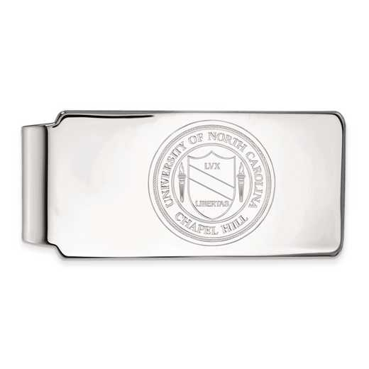 SS061UNC: SS LogoArt Univ of North Carolina Money Clip Crest