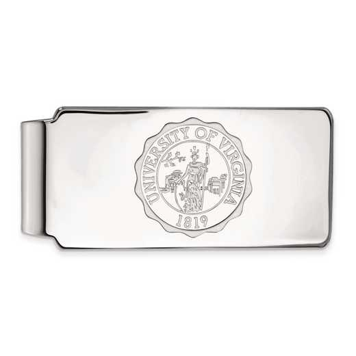 SS070UVA: SS LogoArt Univ of Virginia Money Clip Crest