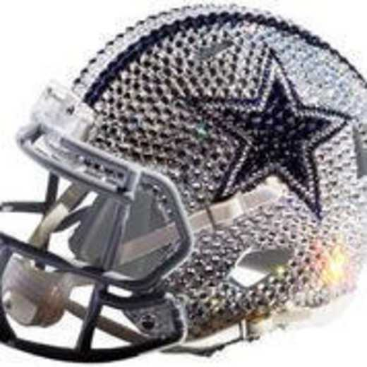 32393: Dallas Cowboys Mini Helmet