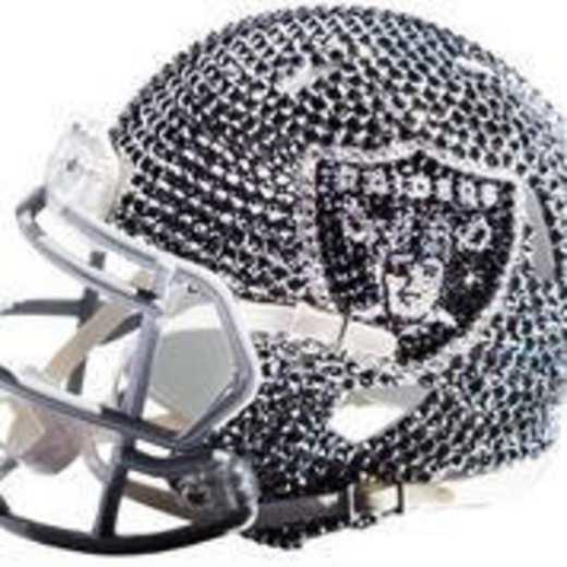 32193: Oakland Raiders Mini Helmet