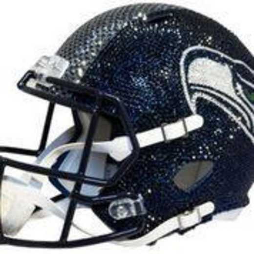 32893: Seattle Seahawks Mini Helmet