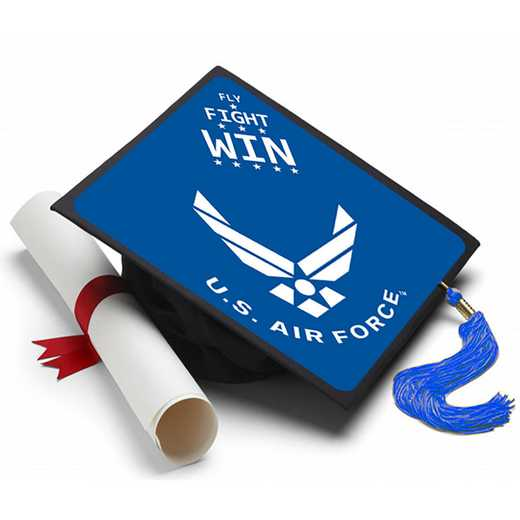 AirForceFFW: Air Force Fly Fight Win Grad Cap Tassel Topper
