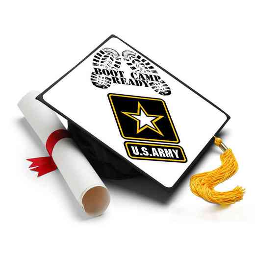 ArmyBootCamp: Army Boot Camp Ready Grad Cap Tassel Topper
