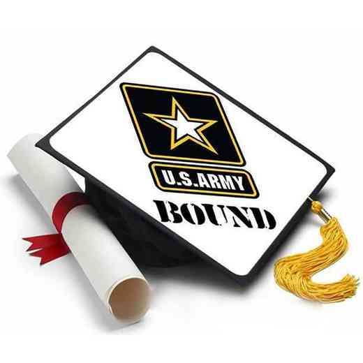 ARM101: Army Bound Grad Cap Tassel Topper