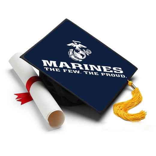 MFP101: Marines - The Few - The Proud Grad Cap Tassel Topper