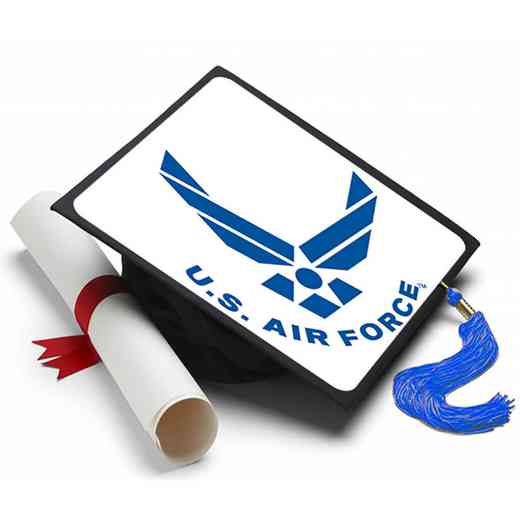 AFS101: US Air Force Grad Cap Tassel Topper