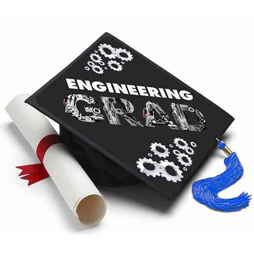 ENGINEERING: Engineering Grad Cap Tassel Topper