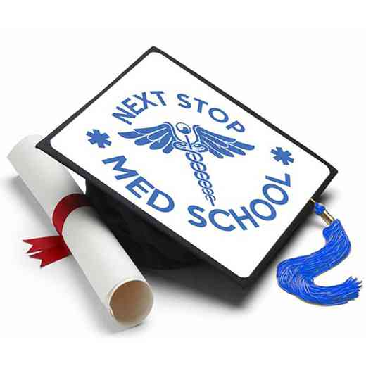 Next Stop Med School: Next Stop Medical School Grad Cap Tassel Topper