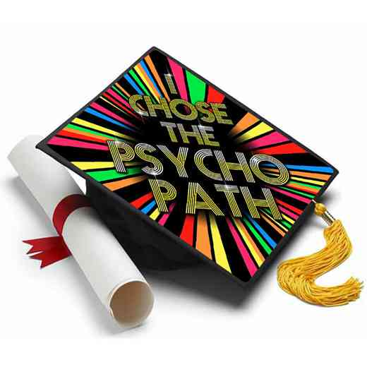 Psychology: Psychology Major Grad Cap Tassel Topper