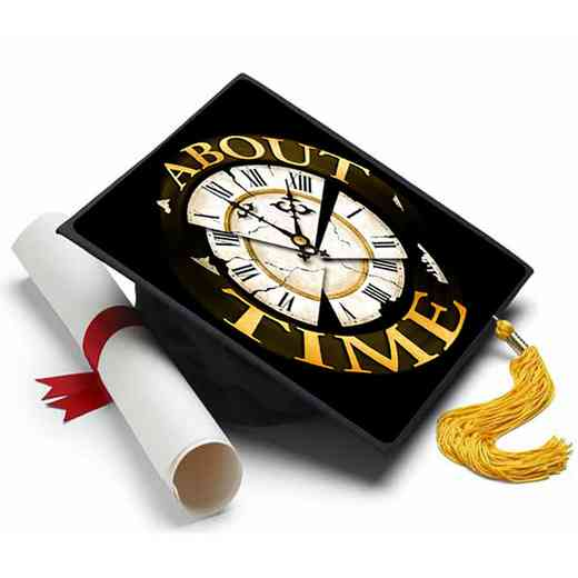 abouttime: About Time Grad Cap Tassel Topper