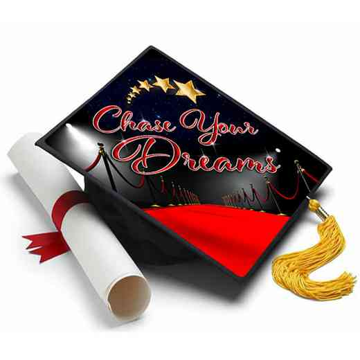 chasedreams: Chase Your Dreams Grad Cap Tassel Topper
