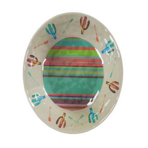 DI1756BW04: HEA 4pc Cactus Melamine Bowl