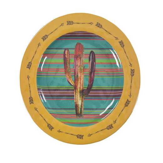 DI1756DP04: HEA 4pc Cactus Melamine Dinner Plate