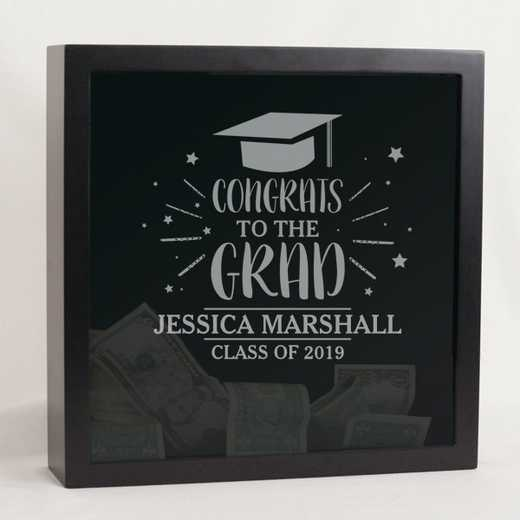 L12619146: PGS Congrats Grad Shadow Box
