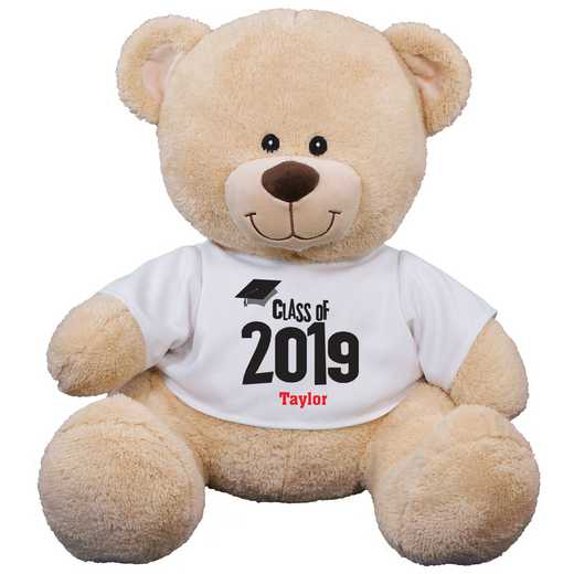 837799B17: PGS Graduation Sherman Bear 17 inch