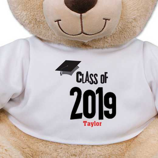 837799B21: PGS Graduation Sherman Bear 21 inch