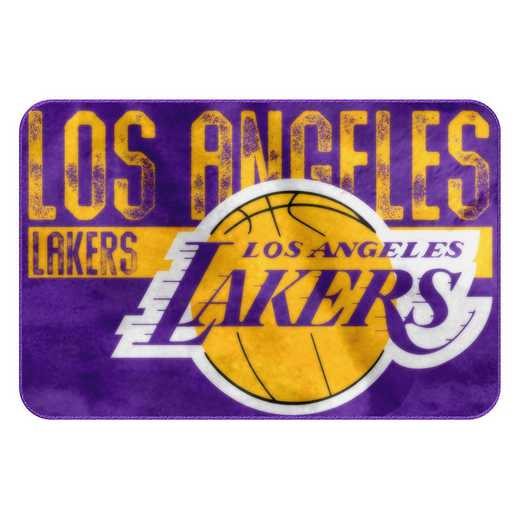 1NBA327000013RET: NW NBA 327 Lakers WornOut Foam Mat