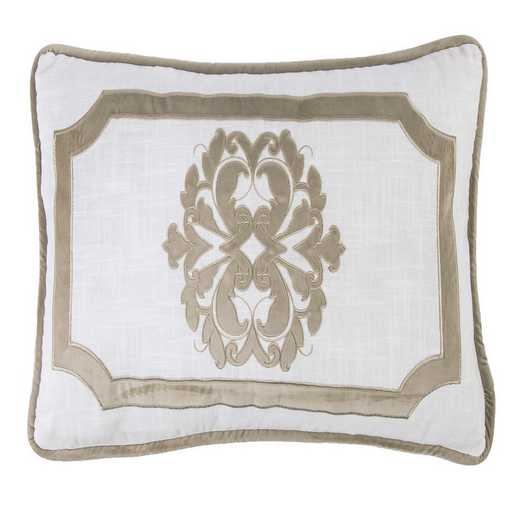 FB1755P1-OS-OM: HEA Madison Oblong Linen Pillow