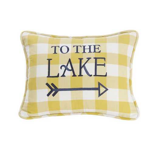 LK1681P1: HEA Beuford To the Lake Pilow - 16x21