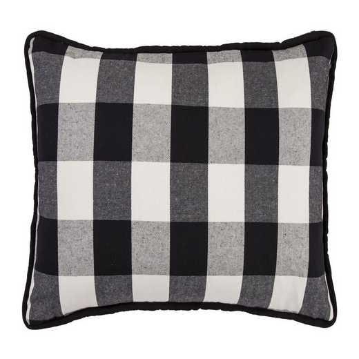 FB1776P1: HEA Blackberry Buffalo Check Oblong Pillow, 16x26